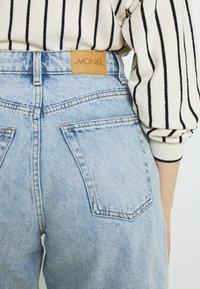 Monki - Jeans Short / cowboy shorts - blue dusty light/light blue - 5