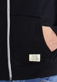 Blend - REGULAR FIT - Zip-up hoodie - black - 4