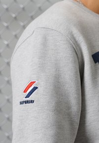 Superdry - CITY COLLEGE - Sweatshirt - grey marl - 1