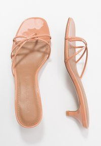 Who What Wear - ADDISON - T-bar sandals - peach/tan - 3
