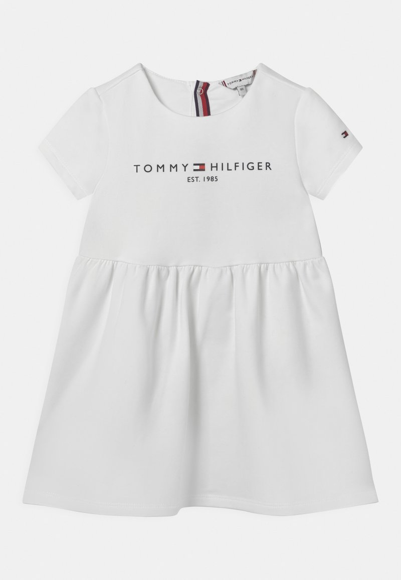 Tommy Hilfiger - BABY ESSENTIAL  - Jersey dress - white
