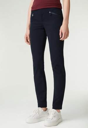 Trousers - navy-blau