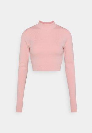 KIMBER CROPPED - Jumper - pink medium