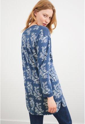 Tunic - blau mehrfarbig