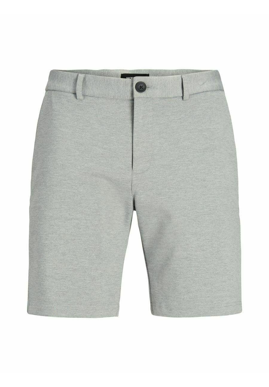Uomo JJIPHIL CHINO - Shorts - light grey melange