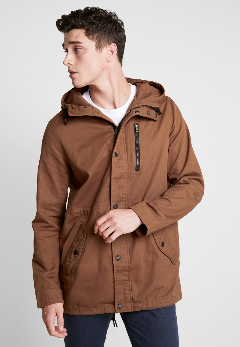 YOURTURN - Parka - brown