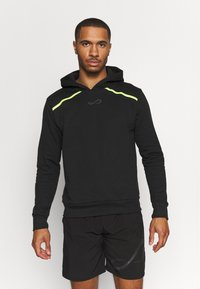 Endless - SUDADERA RUSH - Sweatshirt - black/yellow - 0