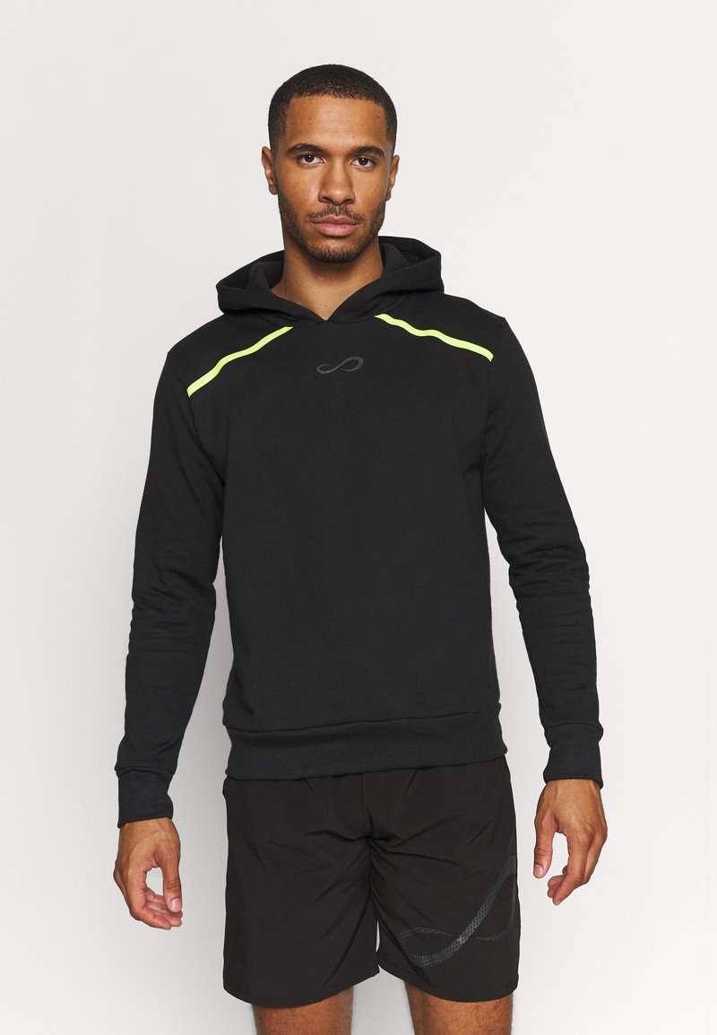 Endless - SUDADERA RUSH - Sweatshirt - black/yellow