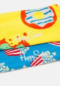 Happy Socks - POPCORN JUMBO DONUT SOCK UNISEX SET - Socks - multi-coloured - 1