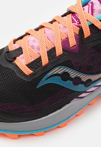 Saucony - PEREGRINE 11 - Trail running shoes - future black - 5