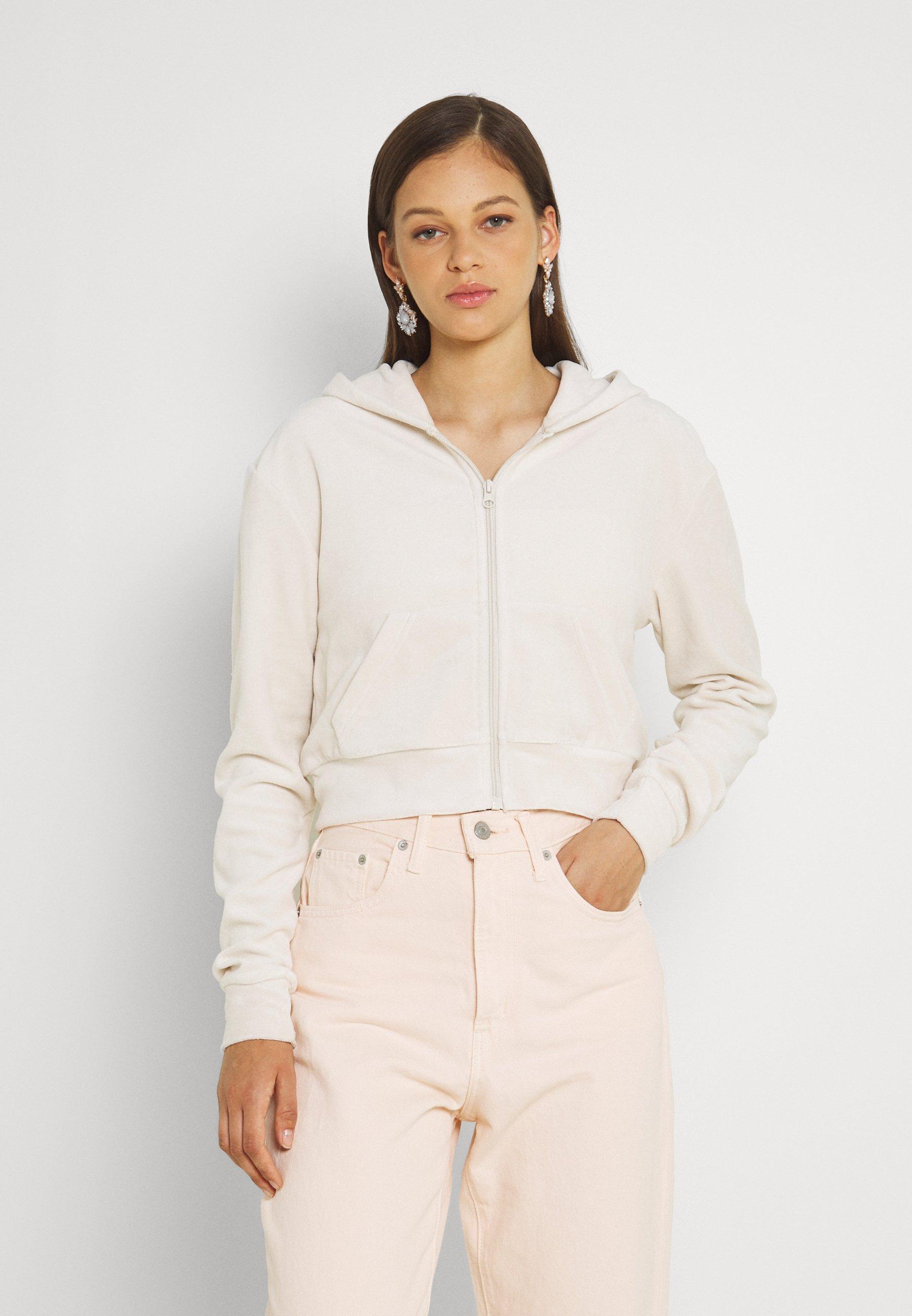 Women JUNO ZIP HOODIE - Zip-up sweatshirt