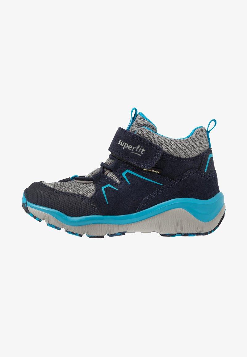 Superfit - SPORT - Kotníkové boty - blau/grau