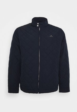 PLUS QUILTED WINDCHEATER - Light jacket - evening blue