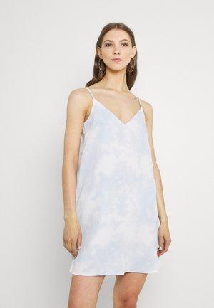 Denní šaty - tiedye blue