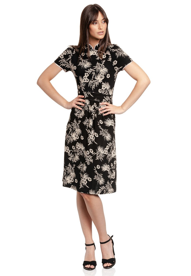 Vive Maria - TROPICAL ASIAN - Jumper dress - schwarz allover