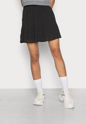 ONLPETUNIA PLISSE SKIRT  - Mini skirt - black