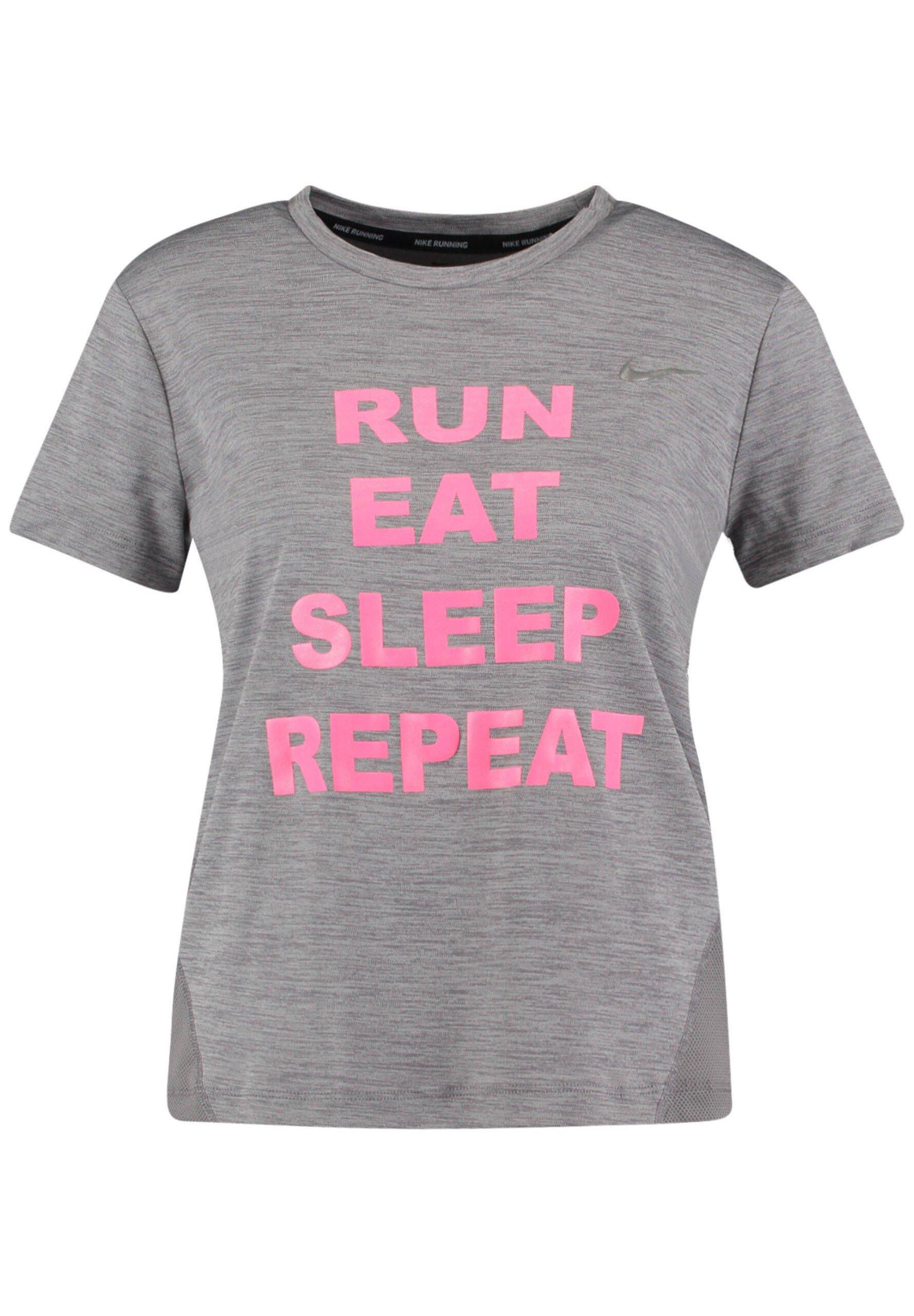 Damen RUN EAT SLEEP - Funktionsshirt