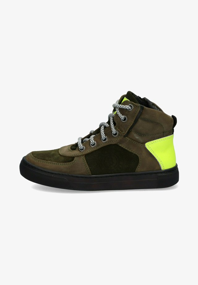 MARK MAURITZ - High-top trainers - green