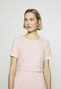Lauren Ralph Lauren - PIAZZA FLORAL  - Koktejlové šaty/ šaty na párty - pink macaron - 3