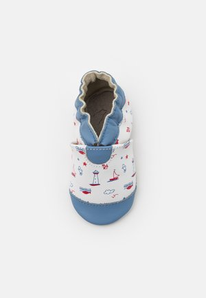 BEAUTIFUL BOAT - Babyschoenen - blanc/bleu