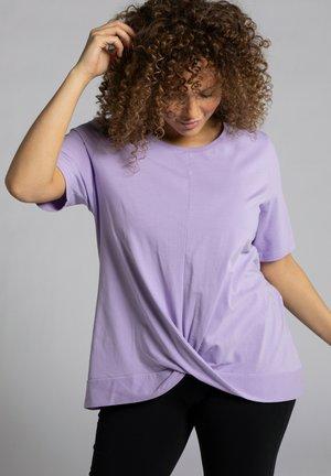 Basic T-shirt - lichtpaars