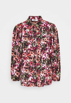 ONLLAVIN - Skjorte - black/neon