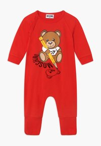 MOSCHINO - BABYGROW GIFT BOX - Overal - poppy red - 2