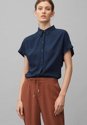 Button-down blouse - dark night