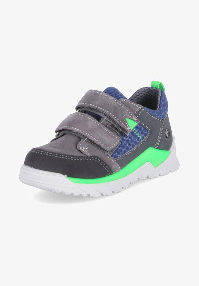 Trainers - grau - blau - grün