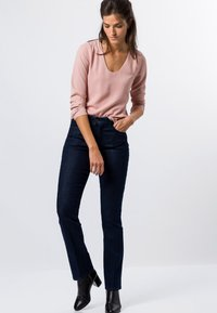 zero - MIT TRANSPARENTEN ÄRMELN - Long sleeved top - misty rose - 1