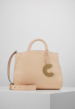 CONCRETE - Handbag - nude