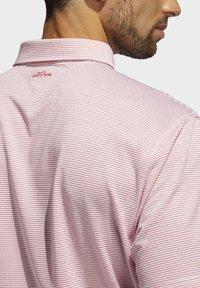 adidas Golf - ADIPURE OTTOMAN POLO SHIRT - Funktionsshirt - red - 6