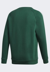 adidas Originals - 3-STRIPES CREWNECK SWEATSHIRT - Mikina - green - 11