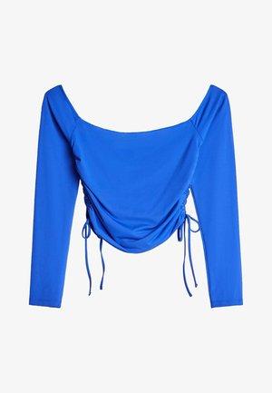MIT RAFFUNG - Long sleeved top - blue