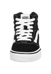 Vans - WARD HI - High-top trainers - black / white - 5