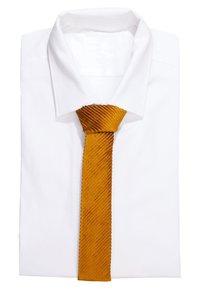 DRYKORN - TIE SLIM - Cravate - gold - 1