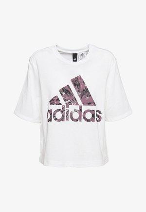 UNIV TEE - Print T-shirt - white