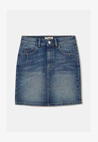 TALLY WEiJL - Denim skirt - dark blue - 4