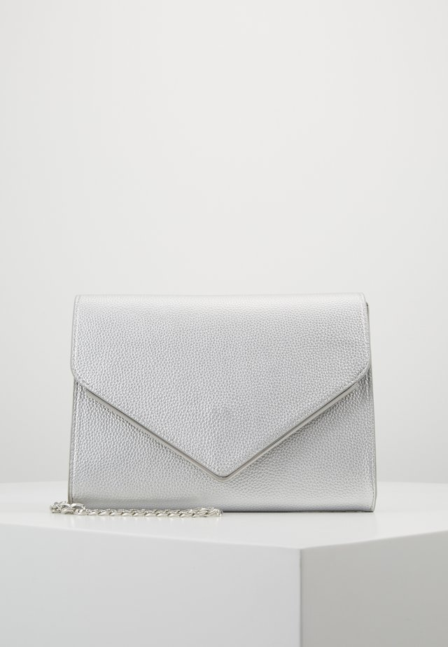 ONLHANNAH ZANNE ENVELOPE CROSSOVER - Across body bag - silver