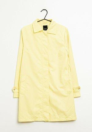 Halflange jas - yellow