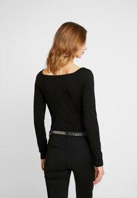 Glamorous - BODYSUIT 2 PACK - Long sleeved top - silver/black - 3