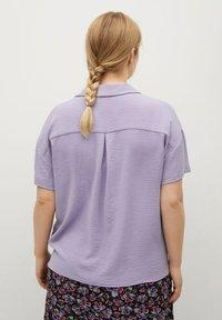 Violeta by Mango - Button-down blouse - lilas - 2