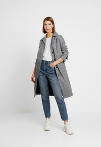 Superdry - EDIT REFLECK CAR COAT - Trench - silver - 1