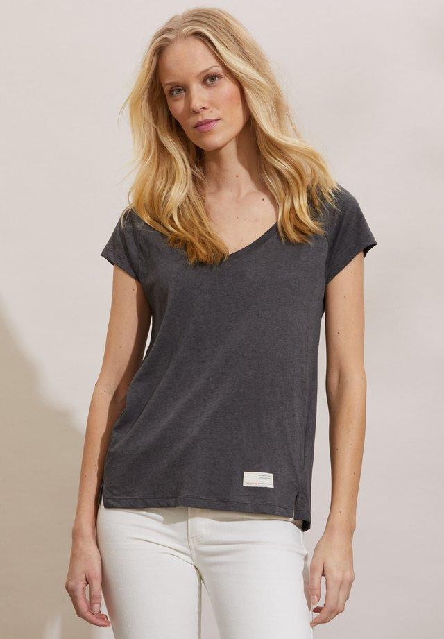 T-shirt basique - asphalt