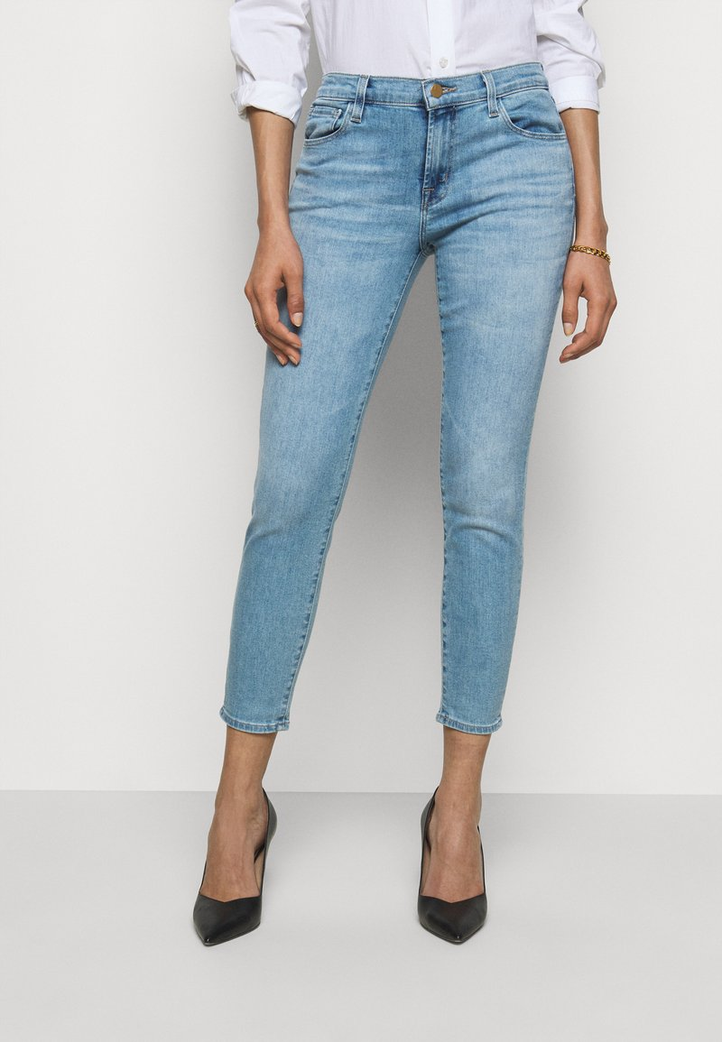 J Brand - MID RISE CROP - Jeans Skinny Fit - domina