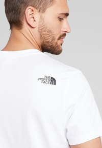 The North Face - EASY TEE - T-shirt print - white