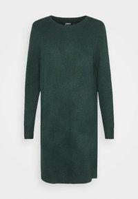 ONLELENA DRESS - Jumper dress - green gables/black melange