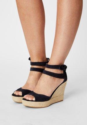 MEIARA - Platform sandals - marine
