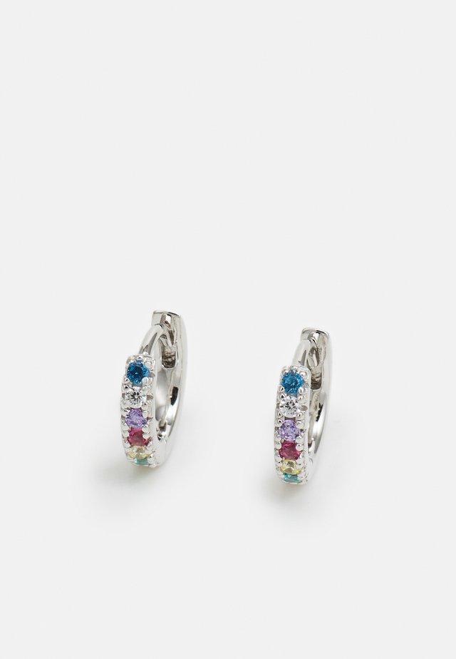 ELLERA PICCOLO EARRINGS - Oorbellen - silver-coloured
