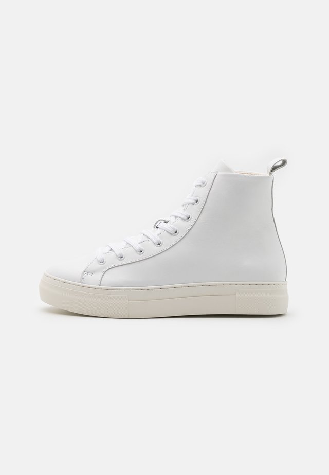 SLHDAVID CHUNKY TRAINER  - High-top trainers - white